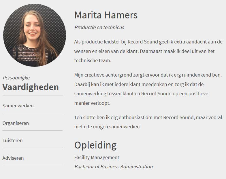 Marita Hamers